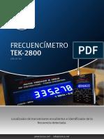 Frecuencimetro Tek 2800