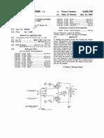 U.S. Pat. 4,636,740, Control Circuit for Push-Pull Tube Amp, 1987