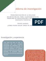 Clase 2- Delimitación Del Tema y Planteamiento Del Problema 2019-1