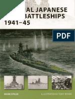 Osprey New Vanguard Imperial Japanese Navy Battleships 1941-1945 (2008)
