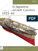 Osprey New Vanguard Imperial Japanese Navy Aircraft Carriers 1921-1945 (2005)