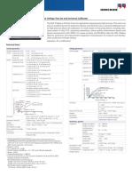 CMC 256plus Technical Data ENU