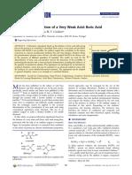 Titulacion de acido borico