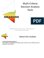 Measure Training Module Mcda