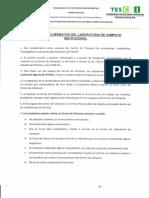 Reglamentos Laboratorios de Computo 2013