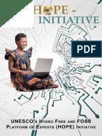 unesco hydro free and foss paltform of experts (hope) initative.pdf