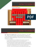 how to debate