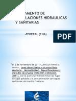 Reglamento de Instalaciones Hidraulicas y Sanitarias