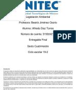 Legislación Ambiental Alfredo Diaz Torres