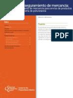 Pautas Para Aseguramiento de Mercanca Carga y Aseguramiento de Mercanca Para Envos de Productos Qumicos en La Industria de Poliuretanos