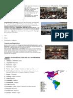 Organismo Ejecutivo Ejerce El Poder Ejecutivo Del País y Está Conformado Por ElPresidente