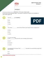 1_APTIS G VOCAB and READING TEST 1 Version 1 +KEY