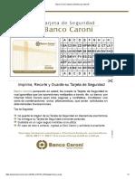 Banco Caroní, Sistema de Banca Por Internet