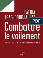 Fatiha Agag-Boudjahlat - Combattre Le Voilement