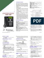 Guia Rapida Aparato Telefonico 1608