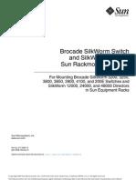 Brocade 4100 Rack Mount Guide