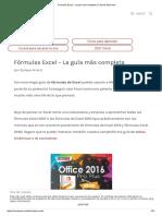 Fórmulas Excel - La Guía Más Completa y Fácil de Aprender