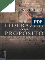 Rick Warren LIDERAZGO CON PROPOSITO.pdf