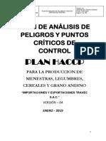 HACCP DE TRAVEC (LEGUMINOSAS Y GRANOS (Autoguardado) MODIFICADO.docx