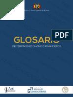 Glosario de Términos Económico Financieros