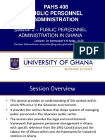Session 2 PPA in Ghana