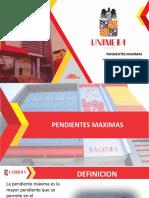 PENDIENTES MAX Diapositiva Exposicion