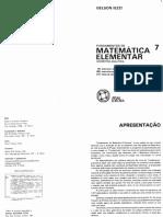 V7 Geometria Analitica