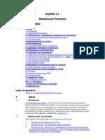 Capítulo 5 - Manutenção Preventiva
