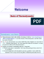 Basics of Thermodynamics