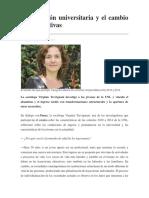 La Deserción Universitaria y El Cambio de Expectativas. Tp Aulico. Clase 1. 2018