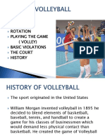 VOLLEYBALL Unit Power Point