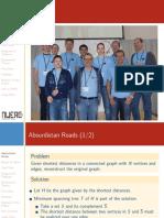 NWERC 2013 ProblemSet PostContestPresentation