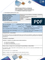 Guia de Actividades y Rúbrica de Evaluación - Tarea 2. Dualidad y Análisis Post-óptimo