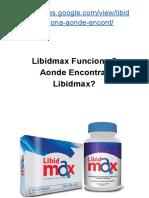 Libidmax Funciona?Aonde Encontrar Libidmax?  ➥ [veja aqui abaixo]