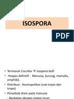 ISOSPORA