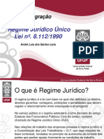 Regime Jurídico Único (Lei n 8.112_90)