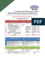 Professional Development Programmes Notice