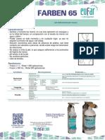 Ficha Tecnica Farben 65%