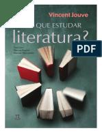 Porque Estudar Literatura Vicent Jouve