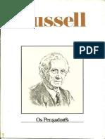 Russell - Os pensadores.pdf