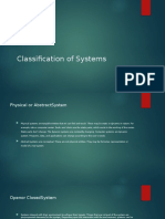 Classification of a System.pdf
