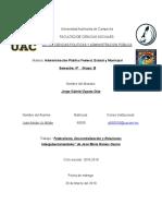 Federalismo, Descentralización y Relaciones Intergubernamentales-José Adrián Uc Millán.docx