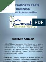 Portafolio Dispens Papel Higienico CONECTEK