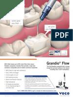 Grandio Flow Product Info.