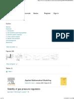 Stability of Gas Pressure Regulators - ScienceDirect