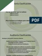 Auditorias Clasificacion