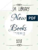 New Books Tsm Library Februari 2018