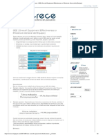 SíCrece_ OEE (Overall Equipment Effectiveness o Eficiencia General del Equipo)