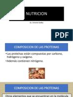 Nutricion Clase Proteinas y Agua