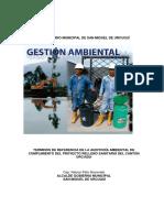 TDR autoría ambiental relleno sanitario